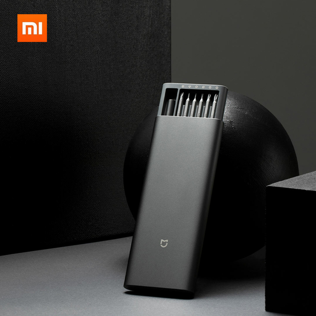 Mới Có Hàng Xiaomi Mijia Sử Dụng Hàng Ngày Vít Lái Xe Bộ 24 Độ Chính Xác Đầu Nam Châm Alluminum Hộp Wiha DIY Vít người Lái Xe Bộ