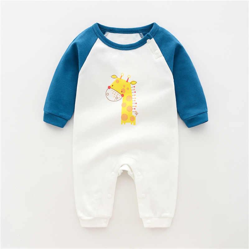 Peleles de bebé de manga larga mono ropa recién nacida primavera otoño pijamas, ropa de bebé niña Niño