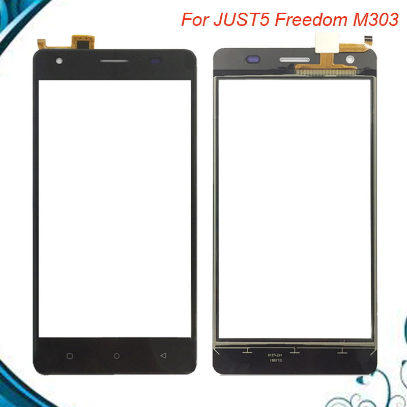 For Just5 Freedom M303 Touch Screen Panel Replacement Screen Module Replacement Parts For Just5 Freedom M 303 TouchScreen(China)