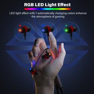 Image 4 - Dacom gh02 gaming bluetooth headset gamer aptx super bass fone de ouvido sem fio com microfone rgb led luz para o telefone móvel