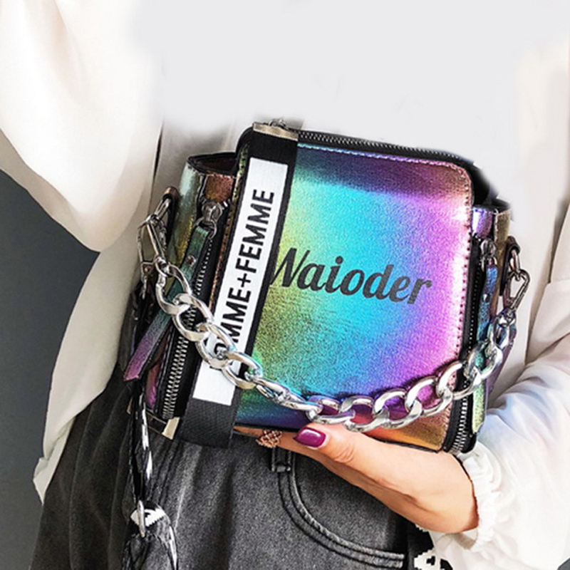 Popular Female Handbag Holiday PU Messenger Exquisite Crossbody Women Letter Shoulder Bag X002