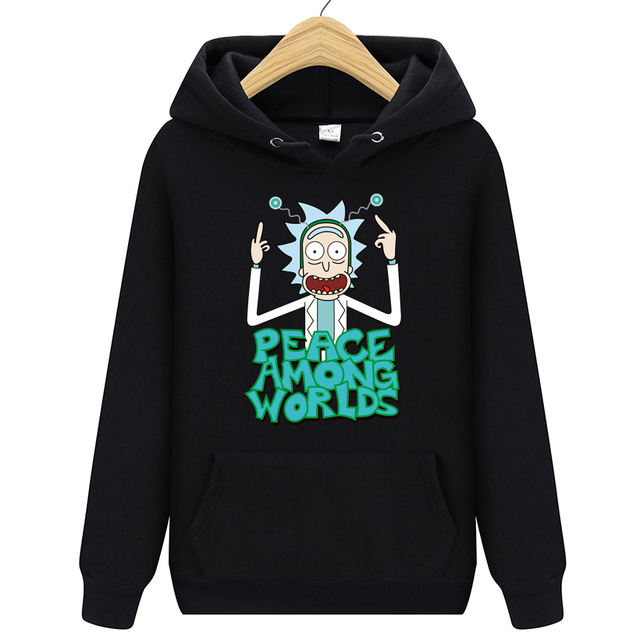 3D RICK AND MORTY THEMED HOODIE (30 VARIAN)