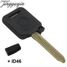 Bilchave с чипом ID46 для NISSAN Teana Tiida Qashqai X-Trail ключ зажигания с транспондером Корпус Замена Fob чехол