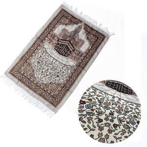 Image 4 - พรมพรมห้องนั่งเล่นหนาพู่ชั้น Soft บูชาเสื่อตกแต่งมุสลิมผ้าห่มสไตล์ชาติพันธุ์พรมสี่เหลี่ยมผืนผ้า