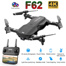 F62 Foldable Profissional Drone with 4K Dual Camera WiFi FPV Optical Flow Follow