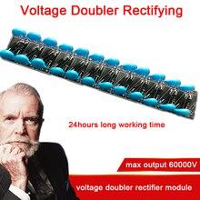 Duplicatore di tensione Raddrizzatore 24 Volte Raddrizzatore 60000V Ad Alta Tensione Moltiplicatore