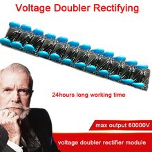 Rectificador de voltaje Doubler, 24 veces, 60000V, módulo multiplicador de alto voltaje