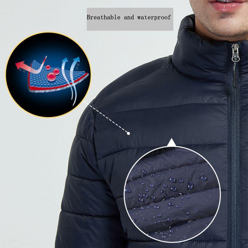 H4f2393ec583543368002fb5f278dd815H 3 Color Heated Winter Jacket