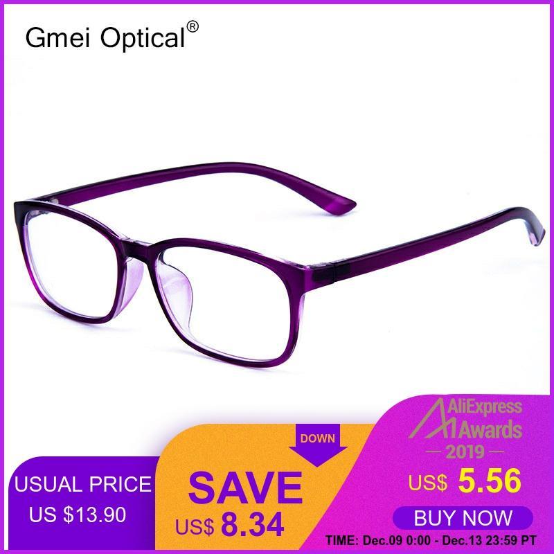 Gmei Optical Ultralight Square Small Face Glasses Frame TR90 Men And Women Brand Designer Presbyopic Optical Frames Oculo G6097