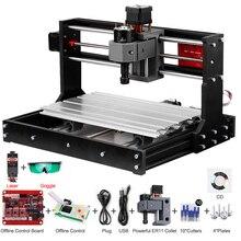 Lazer gravür CNC lazer gravür CNC lazer kesici gravür makinesi lazer yazıcı DIY 3 eksen Pcb freze makinesi