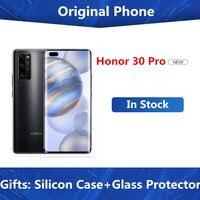 DHL entrega rápida Honor 30 Pro 5G teléfono celular Kirin 990 Android 10,0 de 6,57
