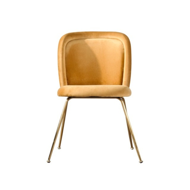 Nordic Simple Metal Dining Chair Family Post Modern Back Single Chair Restaurant Hotel Meeting And Discussion Chair Light Luxury