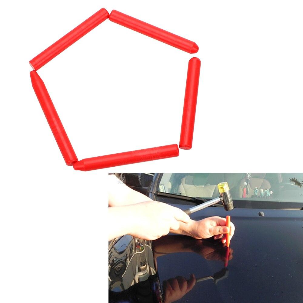 LEEPEE 5 Piece/set Car Bump Pits Flattening Pen Tapping Pen Paint Dent Repair Tool Car Body Repair Tool Plastic