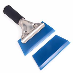 Image 1 - EHDIS Automotive Handled Scraper With Rubber Blade Film Wrapping Vinyl Applicator Tool Sticker Remover Window Tint Snow Squeegee