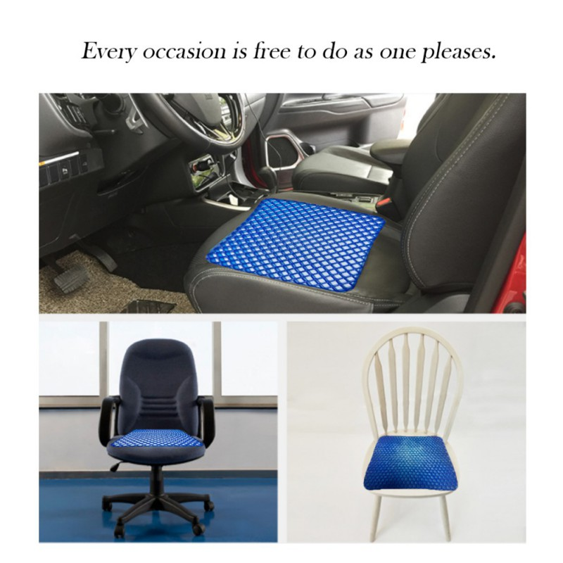 Cushion Pad For Car Office Home Gel Cushion Honeycomb Network Structure Gel Seat