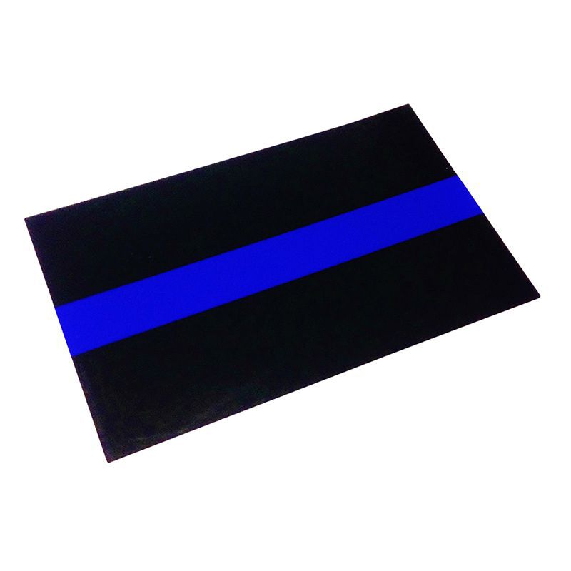 Reflective Thin Blue Line Decals License Plate Stickers For Cars & Trucks Mini License Plate Sticker