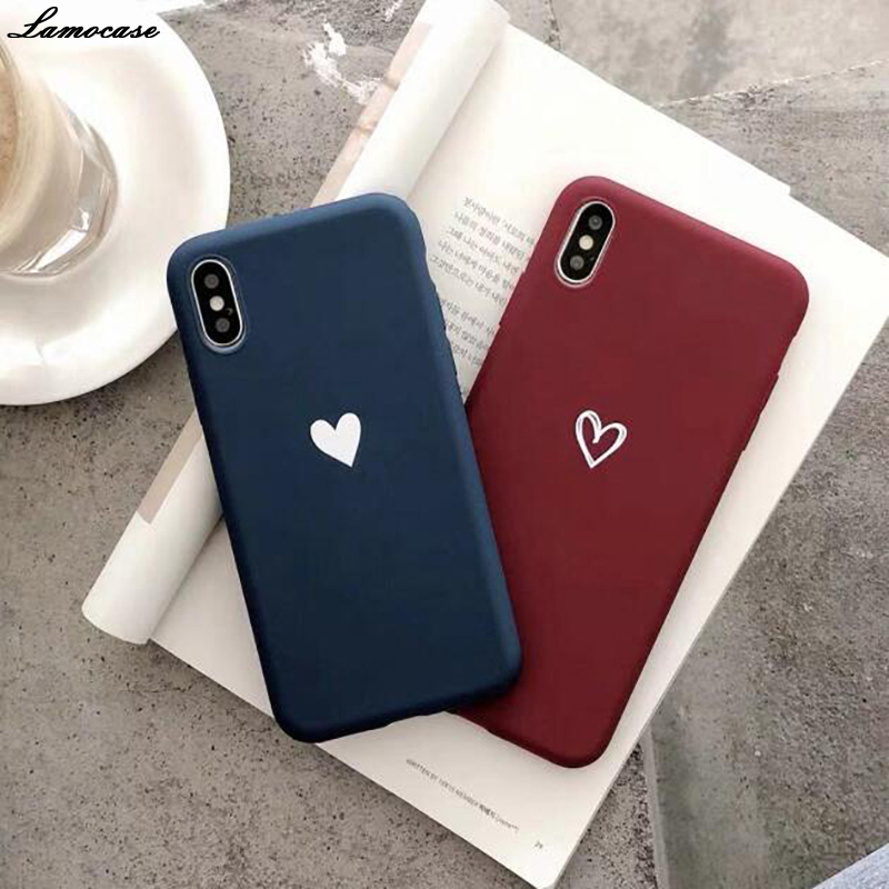 Heart Color Tpu <font><b>Case</b></font> For <font><b>Samsung</b></font> <font><b>Galaxy</b></font> Note 10 9 8 Pro A50 <font><b>A30</b></font> A40 A10 A20 A70 M10 M20 M30 A7 A8 J6 J8 2018 A750 J4 Plus image