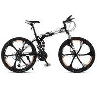 Carbon Stahl Klapp Mountainbike Dämpfung Off-Road Geschwindigkeit Ändern Erwachsene Junge Leichte