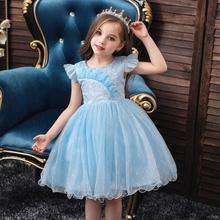 Baby Girls Princess Dress Flowers Embroidery Wedding Party Dress Cute Christmas Dresses недорого
