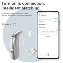 20 Channel Better Than Siemens digital Hearing Aid Sound Amplifier Bluetooth Hearing Aids Behind Ear Adjustable Health Care