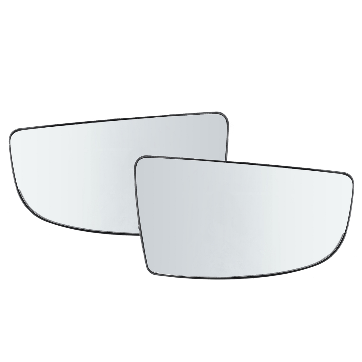 Left side mirror glass to suit FORD ECOSPORT 2014 onward HEATED base