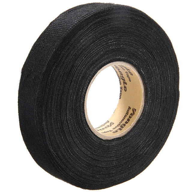 20M*19mm Adhesive Cloth Fabric Wrap Cable Wiring Looms Harness Insulation Tape