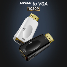 Audio-Cable-Converter Hdmi-Compatible Projector Vga-Adapter Male ANMONE with for PS4