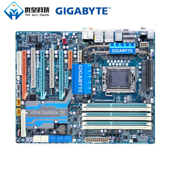 Gigabyte GA-EX58-UD5 Intel X58 Originele Gebruikt Desktop Moederbord Lga 1366 Core I7 I5 I3 DDR3 16G SATA2 USB2.0 Atx