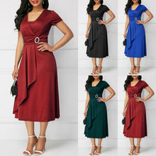 Goocheer High Quality Womens Plus Size Maxi Cocktail Party Wedding Evening Formal Midi Long Dresses