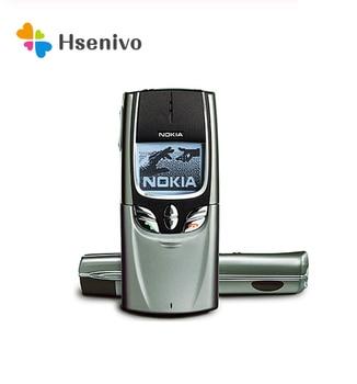 8850 100% Original Unlocked Nokia 8850 GSM One Sim card Slide Mobile Phone one year warranty Free Shipping