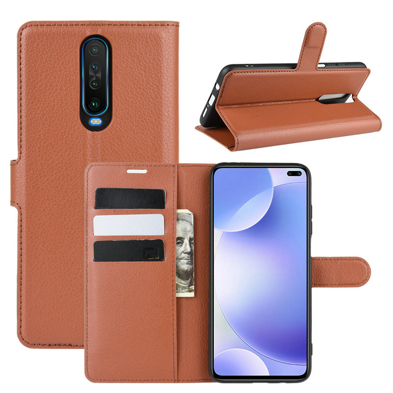 For <font><b>Xiaomi</b></font> <font><b>Redmi</b></font> <font><b>K30</b></font> 5G Flip Leather Case cover for <font><b>Xiaomi</b></font> Mi 9T Pro 6GB 64GB 8GB 128GB <font><b>256GB</b></font> Phone Cover Wallet case with Stand image