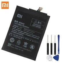 Xiaomi bateria de substituição original para xiaomi redmi 4 redmi 4 pro prime edition bn40 baterias de telefone 4100mah