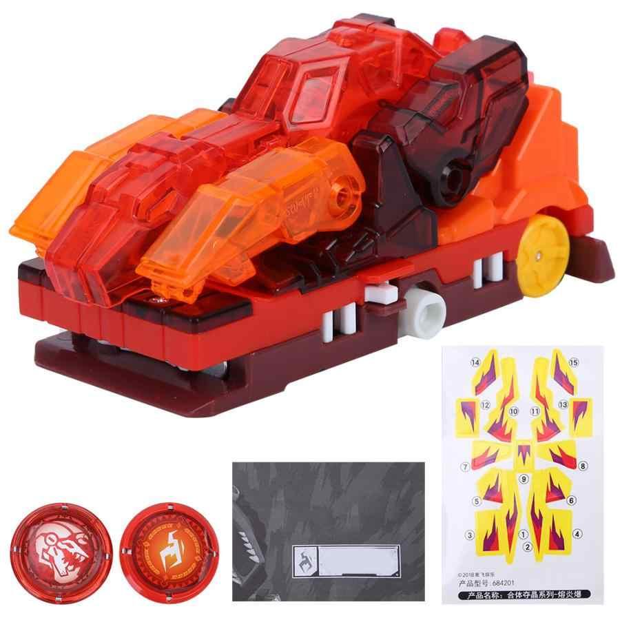 AULDEY пластиковые листать морфинга игрушка автомобиль транспортных средств дети