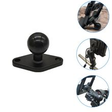 Aluminum Motorcycle Fixing Stand Plate Rubber Ball Head RAM Mount for Phone GPS