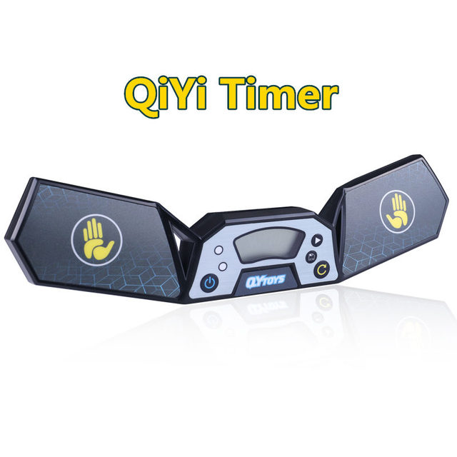 QiYi Timer Magic Speed Cube Competion Timer Professional Clock Machine For Puzzle Cube Sport Stacking
