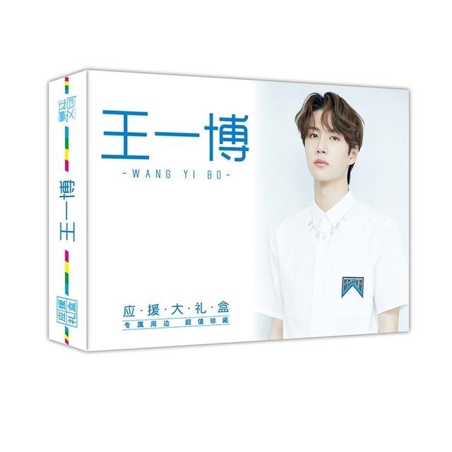 New Chen Qing Ling Gift Box Xiao Zhan Wang Yibo Star Support Gift Box Notebook Postcard Poster Sticker Fans Gift