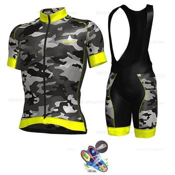 Новинка 2019, летняя велосипедная команда, Джерси, 19D, велосипедные шорты, набор, дышащий, MTB, для мужчин/женщин, велосипедная одежда, Ropa Ciclismo Hombre