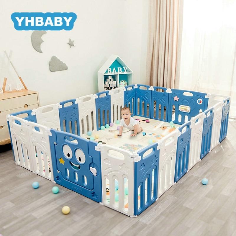 Baby Playpen For Children Pool Balls For Newborn Folding Baby Fence Playpen For Baby Pool Children Playpen Kids Safety Barrier