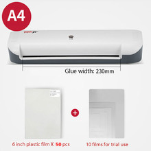 Sealing-Machine Laminating Paper Photo Plastic Small Document A4 Passing Office Portable