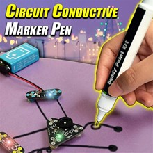 Brush electronics, conductive pen, ink paint, remote keyboard circuit repair 6ml