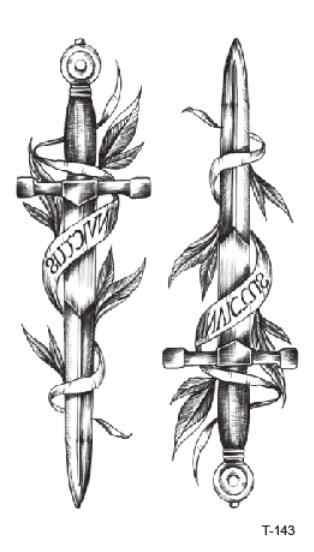 Falsa Etiqueta Do Tatuagem Tatoo Temporária à prova d' água Cruz Totem Adesivos Tatuagens Tatouage Tatto Arte Para Menina Das Mulheres Dos Homens Crianças