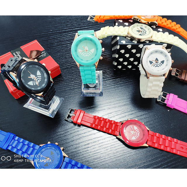 Famous brand women sports watch casual ladyes silicone dress watches women quartz wristwatches Zegarek Damski Reloj Mujer