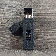 Voopoo vinci 40 w 안티 슬립 실리콘 스킨 커버 슬리브 랩 젤 쉘 젤 포드 케이스 실리콘 인클로저에 대한 보호 케이스