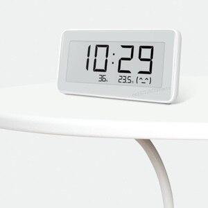 Image 3 - Датчик температуры и влажности Xiaomi Mijia, Bluetooth, ЖК дисплей, цифровой термометр, измеритель влажности, умная связь M