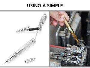 Ручка для проверки напряжения автомобильной электрической цепи для dacia logan volkswagen passat civic 2017 alfa romeo 159 kia ceed x trail t32 T31|Дискодержатель|   | АлиЭкспресс