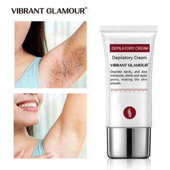 VIBRANT GLAMOUR krem do depilacji włosów bezbolesny krem do depilacji pod pachami nogi ramiona depilacja odżywczy krem do naprawy dla mężczyzn kobiety tanie i dobre opinie VG-ST002-1 Natural Plant Smell Ethylhexyl Palmitate Tocopherol Peony Root 30ml HT591 Depilatory Cream Hair Removal Cream