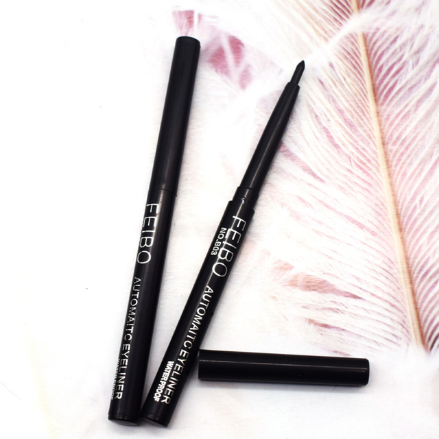 1Pcs Black Liquid Eyeliner Quick-drying Waterproof Long-lasting Eye Liner Not Blooming Eye Pencil Makeup Comestic Tool TSLM1 5