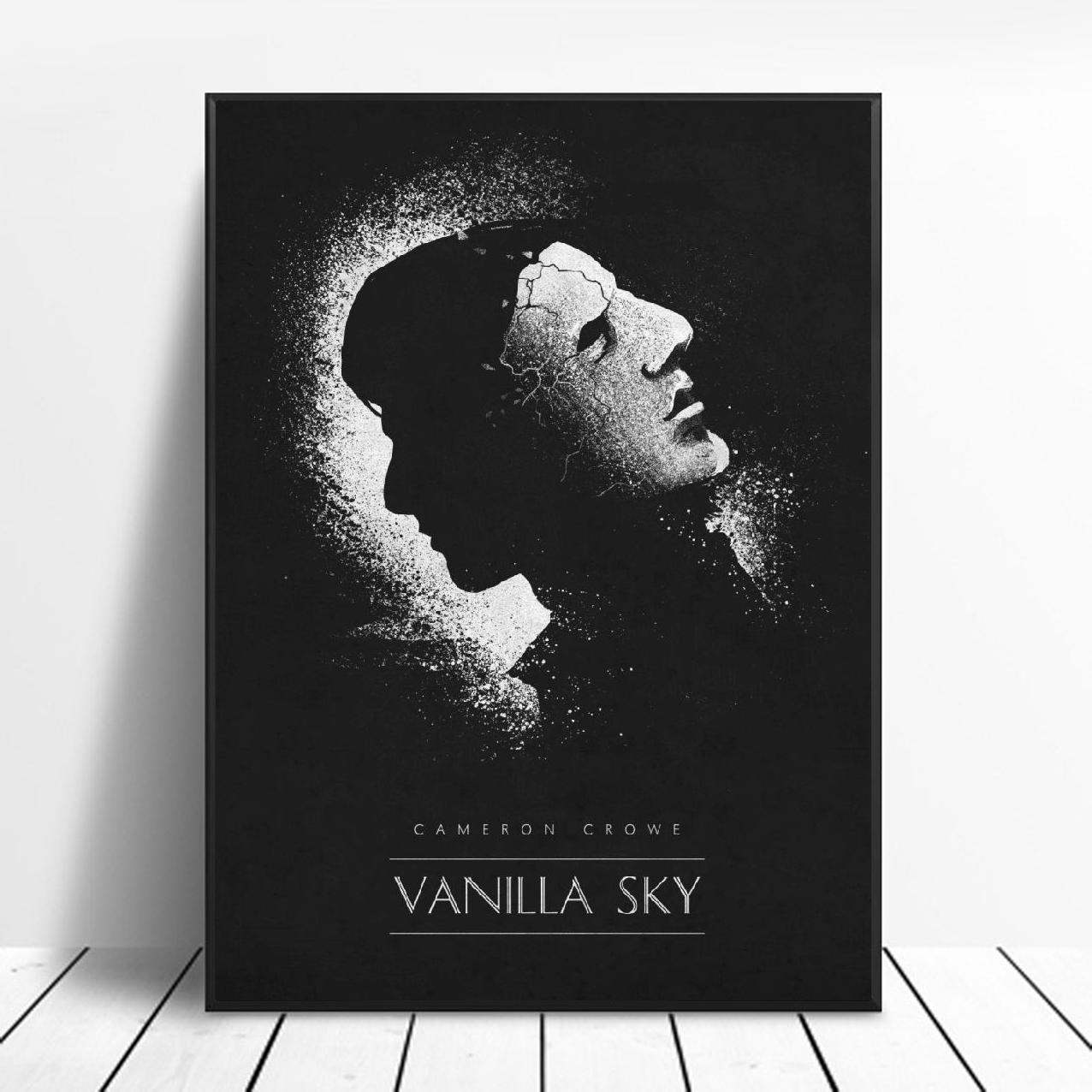 Vanilla Sky Black White Classic Movie Posters Silk Fabric Poster And Print Wall Art Picture Painting Home Decor Painting Calligraphy Aliexpress