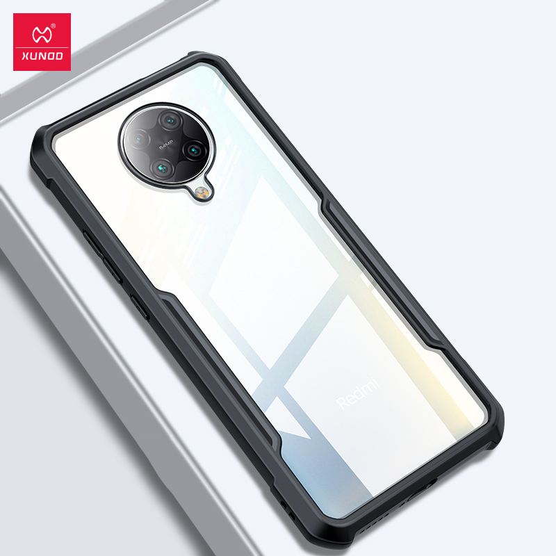 Shockproof Case For Xiaomi Redmi K30 Pro Transparent Case Protective Phone Case Clear Soft Airbag For Mi 10T Pro Cover
