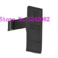 NOVO USB/HDMI DC IN/VIDEO OUT Porta de Borracha Da Tampa Para Canon EOS Rebei 500D T1i Beijo x3 Digital Camera Repair Parte
